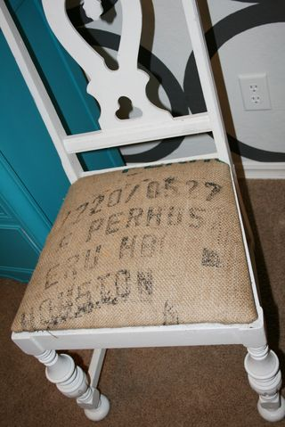Burlap chair candice 3